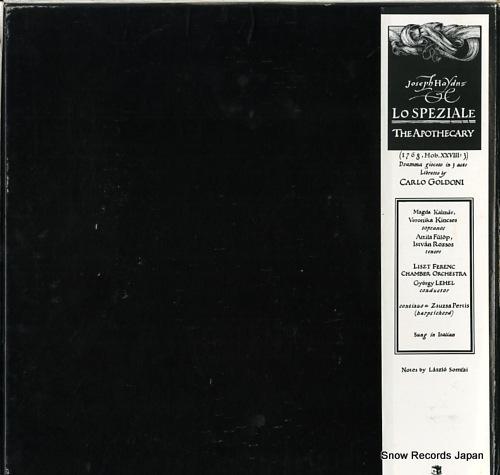 LEHEL, GYORGY haydn; lo speziale SLPX11926-27 - back cover