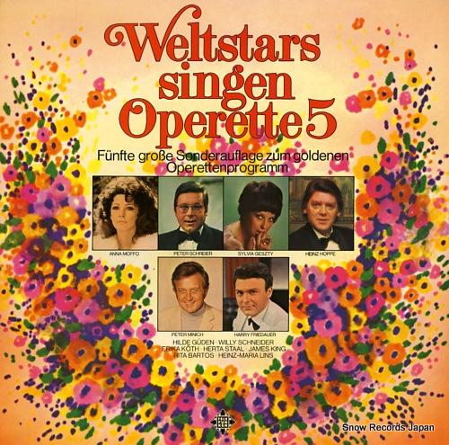 V/A weltstars singen operette 5 6.22583 - front cover