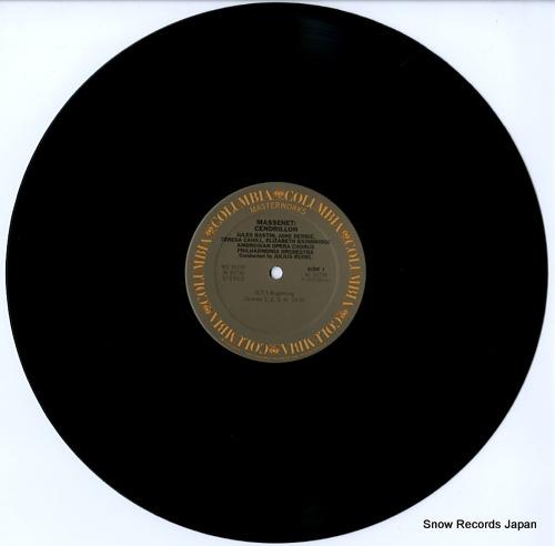 RUDEL, JULIUS massenet; cendrillon M335194 - disc