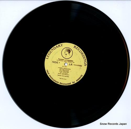 CABALLE, MONTSERRAT, AND JOSE CARRERAS ponchielli; la gioconda LR116-3 - disc