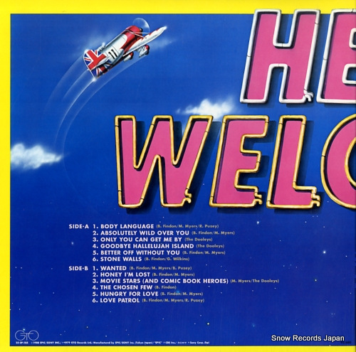 DOOLEYS, THE hello welcome ! 25.3P-185 - back cover