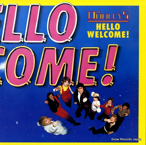 DOOLEYS, THE hello welcome ! 25.3P-185 - front cover
