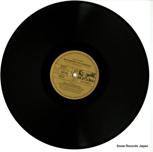 PETERS, REINHARD adolphe adam; der postillon von lonjumeau 300073-420 - disc