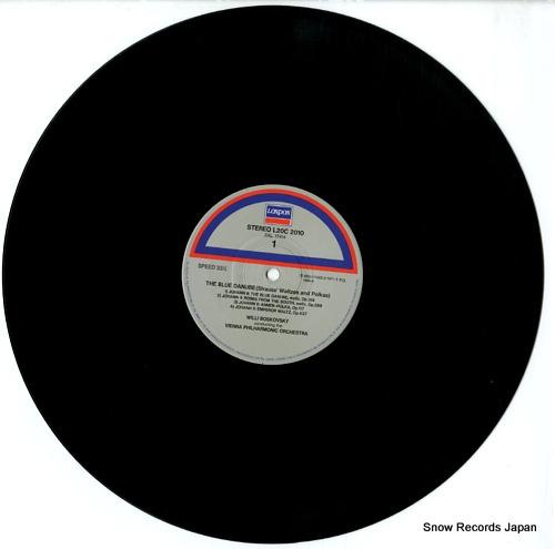 BOSKOVSKY, WILLI the blue danube / vienna waltzes golden album vol.1 L20C-2010 - disc