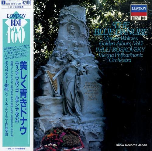 BOSKOVSKY, WILLI the blue danube / vienna waltzes golden album vol.1 L20C-2010 - front cover