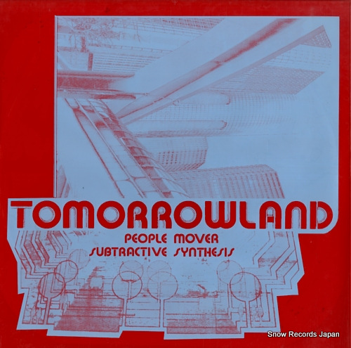 TOMORROWLAND people mover DRL-072 - front cover