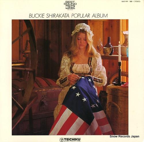 SHIRAKATA, BUCKIE, AND ALOHA HAWAIIANS popular album LLC-19-20 - front cover