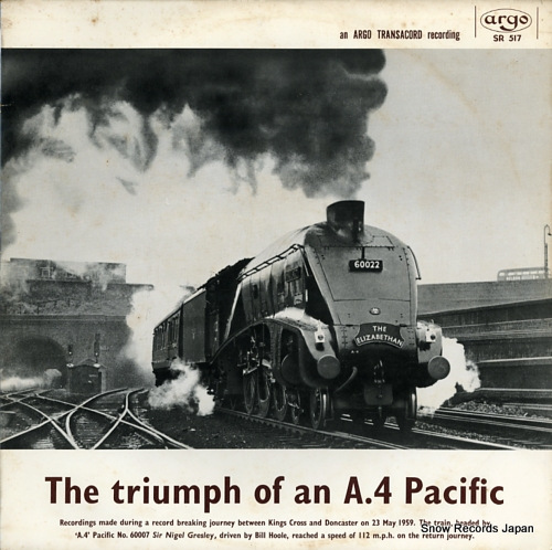 HANDFORD PETER - the triumph of an a.4 pacific - LP