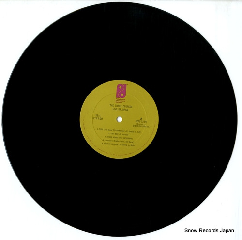 THREE DEGREES, THE the three degrees live in japan ECPZ23-24PH - disc