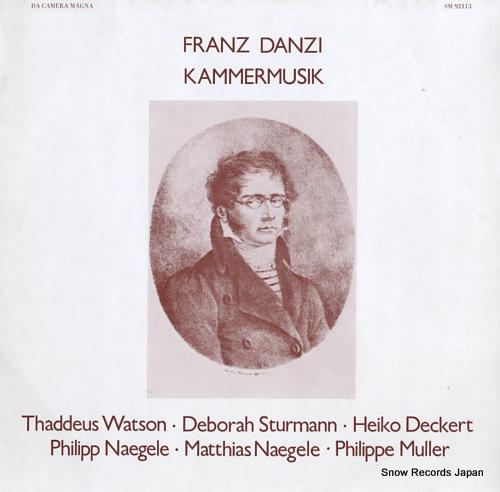 V/A franz danzi; kammermusik SM92113 - front cover