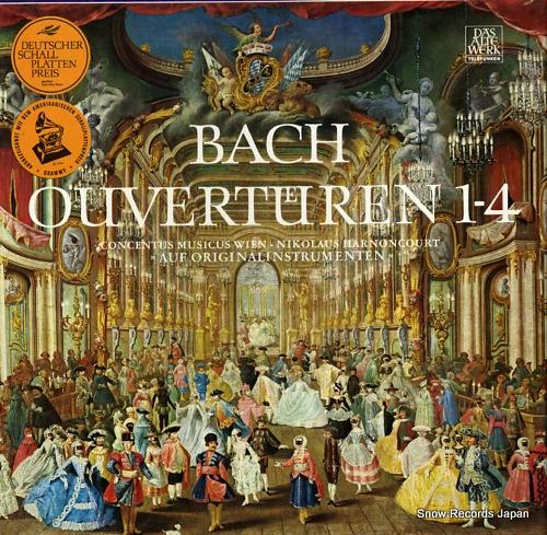 ニコラウス・アーノンクール bach; ouverturen 1-4 6.35046