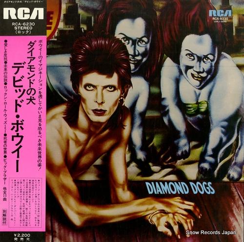 デビッド・ボウイ ダイアモンドの犬 RCA-6230