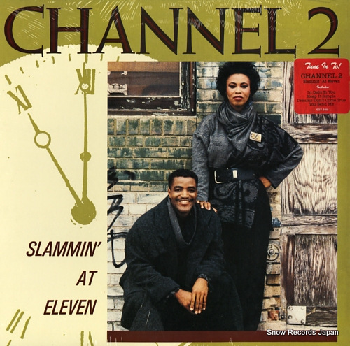 CHANNEL 2 slammin' at eleven 837388-1 - front cover