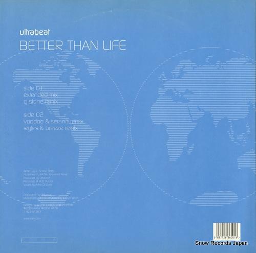 ULTRABEAT better than life 12GLOBE360 - back cover