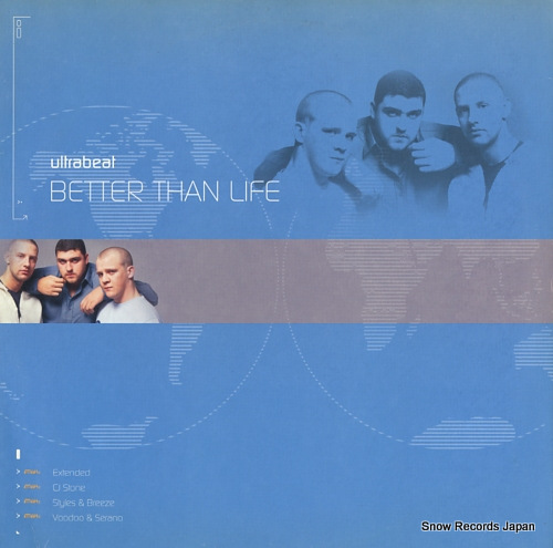 ULTRABEAT better than life 12GLOBE360 - front cover