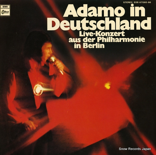 ADAMO adamo in deutschland EOS-67065.66 - front cover
