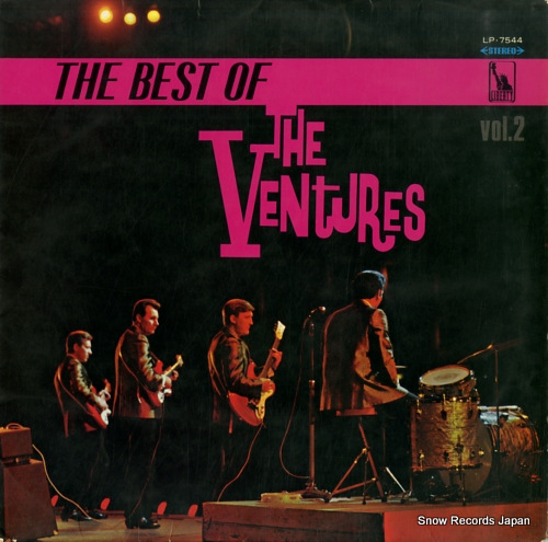 VENTURES, THE the best of the ventures vol.2 LP.7544 - front cover