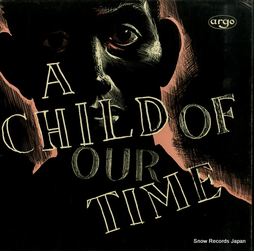 PRITCHARD, JOHN tippett; a child of our time ZDA19/20 - front cover