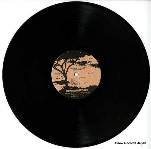 TOMLINSON, MICHAEL still believe 66116-1 - disc