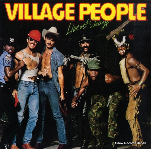 VILLAGE PEOPLE live and sleazy VIP-9569-70 - front cover