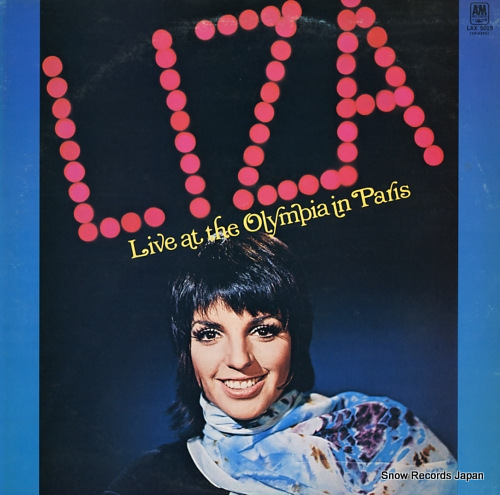 MINNELLI, LIZA live at the olympia in paris LAX5019 - front cover