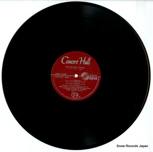 CUVIT AND DEBONNEVILLE, MICHEL the virtuoso trumpet SMS-2677 - disc