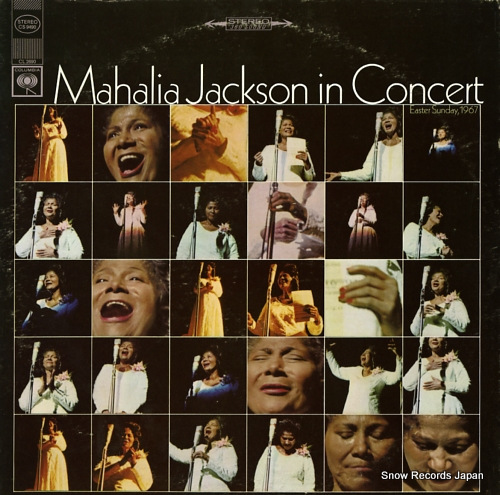 マヘリア・ジャクソン mahalia jackson in concert easter sunday, 1967 CS9490