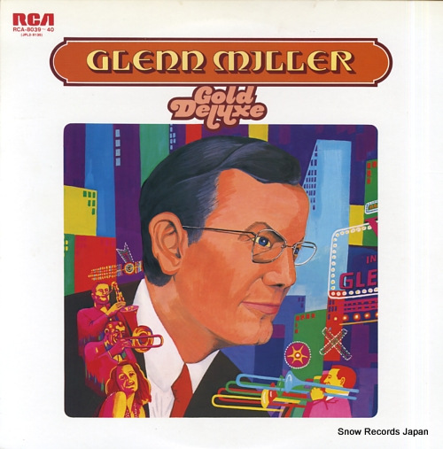 MCKINLEY, RAY glenn miller gold deluxe RCA-8039-40 - front cover