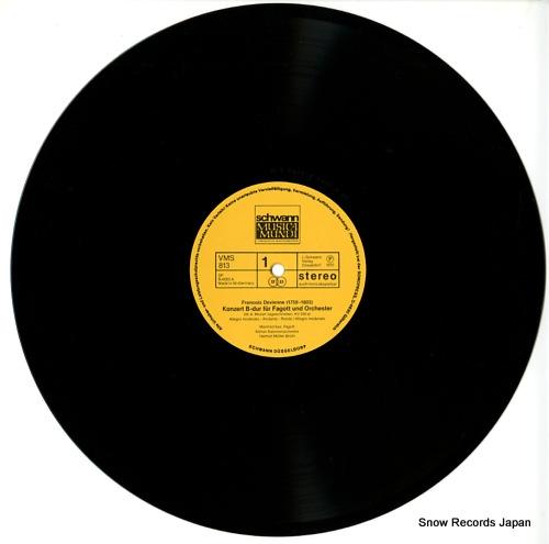 MULLER-BRUHL, HELMUT devienne; das fagott meisterhaft gespielt VMS813 - disc