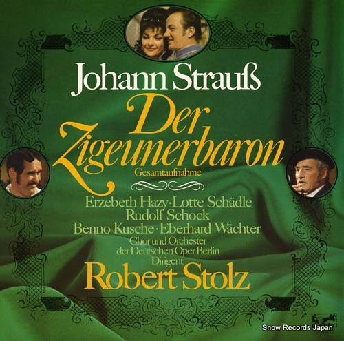 STOLZ, ROBERT strauss; der zigeunerbaron, gesamtaufnahme 88613XDE - front cover