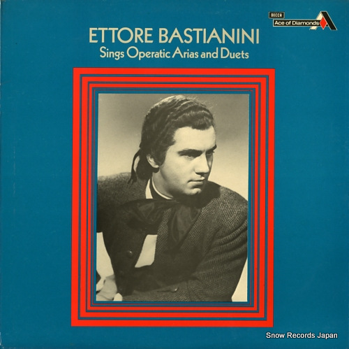 ettore cd  Sing operatic arias and duets by Bastianini Ettore, LP with ...