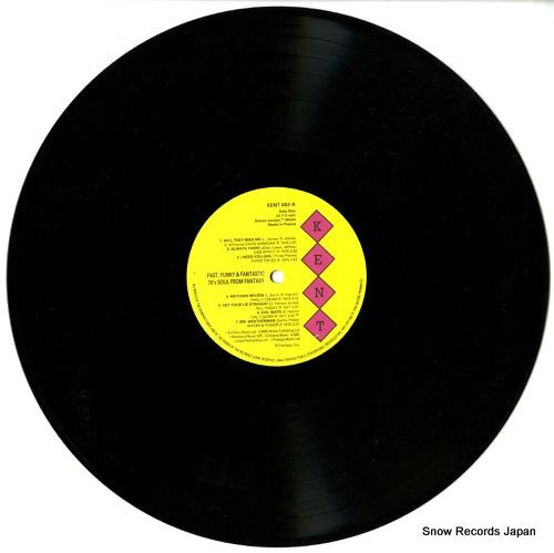 V/A fast, funky & fantastic KENT082 - disc