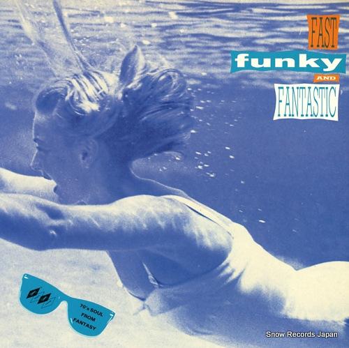 V/A fast, funky & fantastic KENT082 - front cover