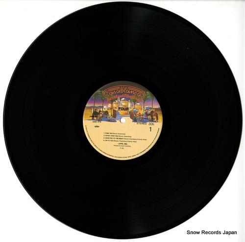 LIPPS, INC. four 25S-173 - disc