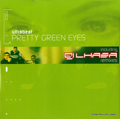 ULTRABEAT pretty green eyes NC22567-0157/0 - front cover