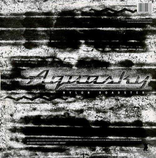 AQUA SKY nylon roadster SHADOW87 - back cover
