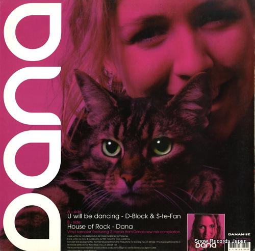 DANA album sampler DNMT006 - back cover