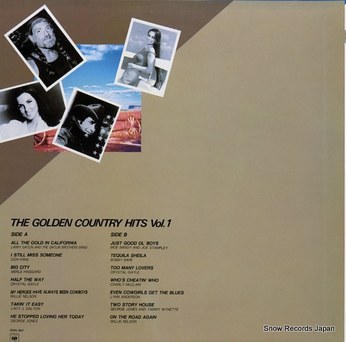 V/A the golden country hits vol.1 FCPA667 - back cover
