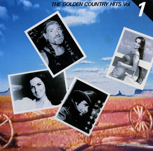 V/A the golden country hits vol.1 FCPA667 - front cover