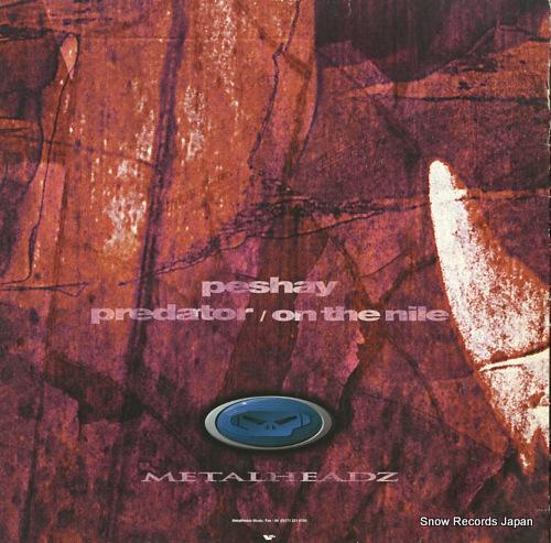 PESHAY predator METH026 - back cover