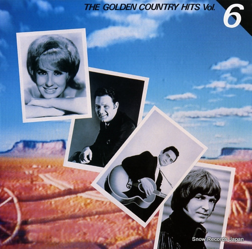 V/A the golden country hits vol.6 FCPA670 - front cover