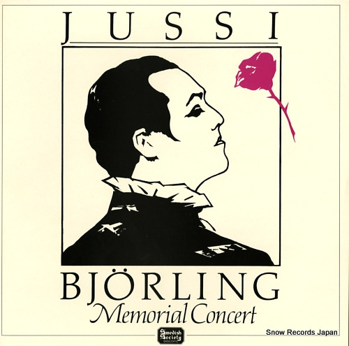 BJORLING, JUSSI memorial concert SLT33275/6 - front cover