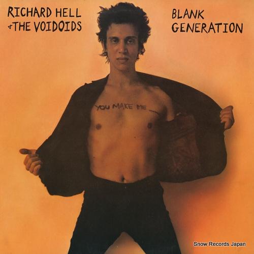リチャード・ヘル blank generation LSD-4007