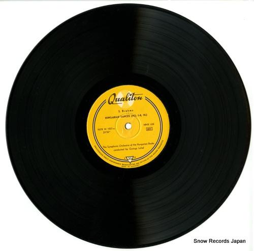 LEHEL, GYORGY brahms; ungarische tanze LPX1027 - disc