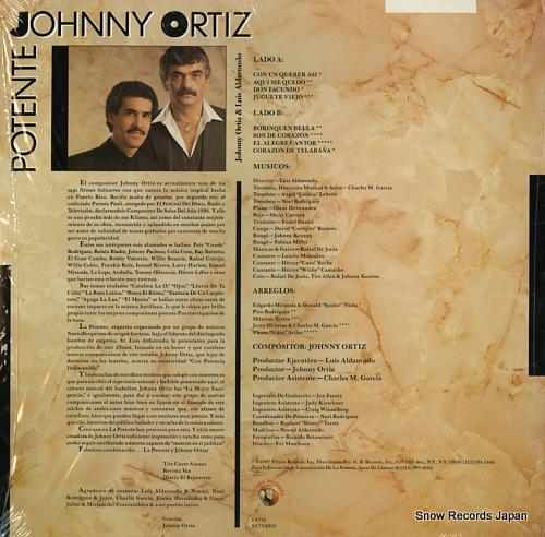 ジョニー・オーティズ potente LP316