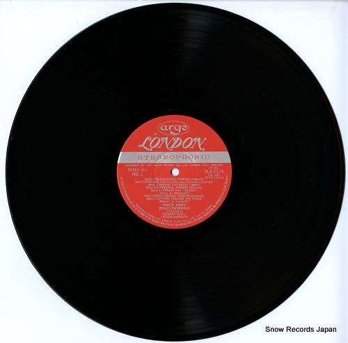 JONES, PHILIP, BRASS ENSEMBLE greensleeves philip jones brass ensembre SLA1174 - disc