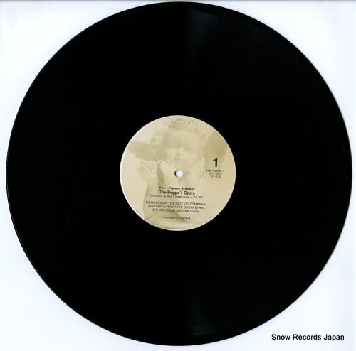 SARGENT, MALCOLM gay-pepusch & austin; the beggar's opera SIB-6023 - disc