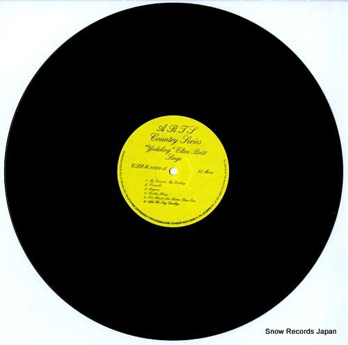 BRITT, ELTON yodeling elton britt sings CLPM-30009 - disc