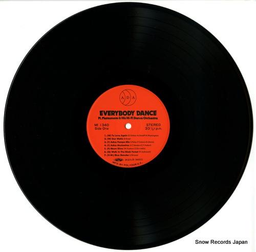 MATSUMOTO, MASAAKI everybody dance MI1340 - disc