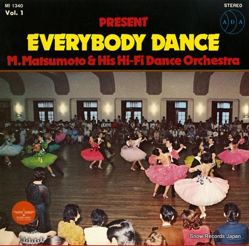 MATSUMOTO, MASAAKI everybody dance MI1340 - front cover